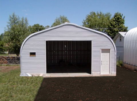 Affordable pre made garage kits to build your garage for Labor cost to build a garage